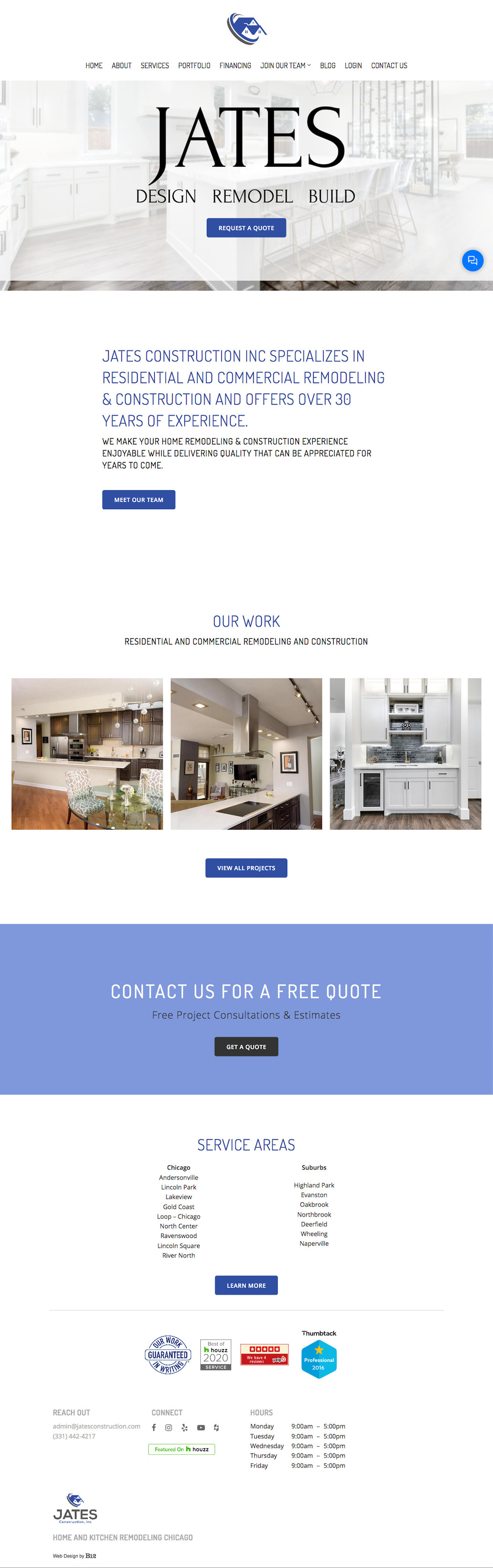 JATES Remodeling & Construction