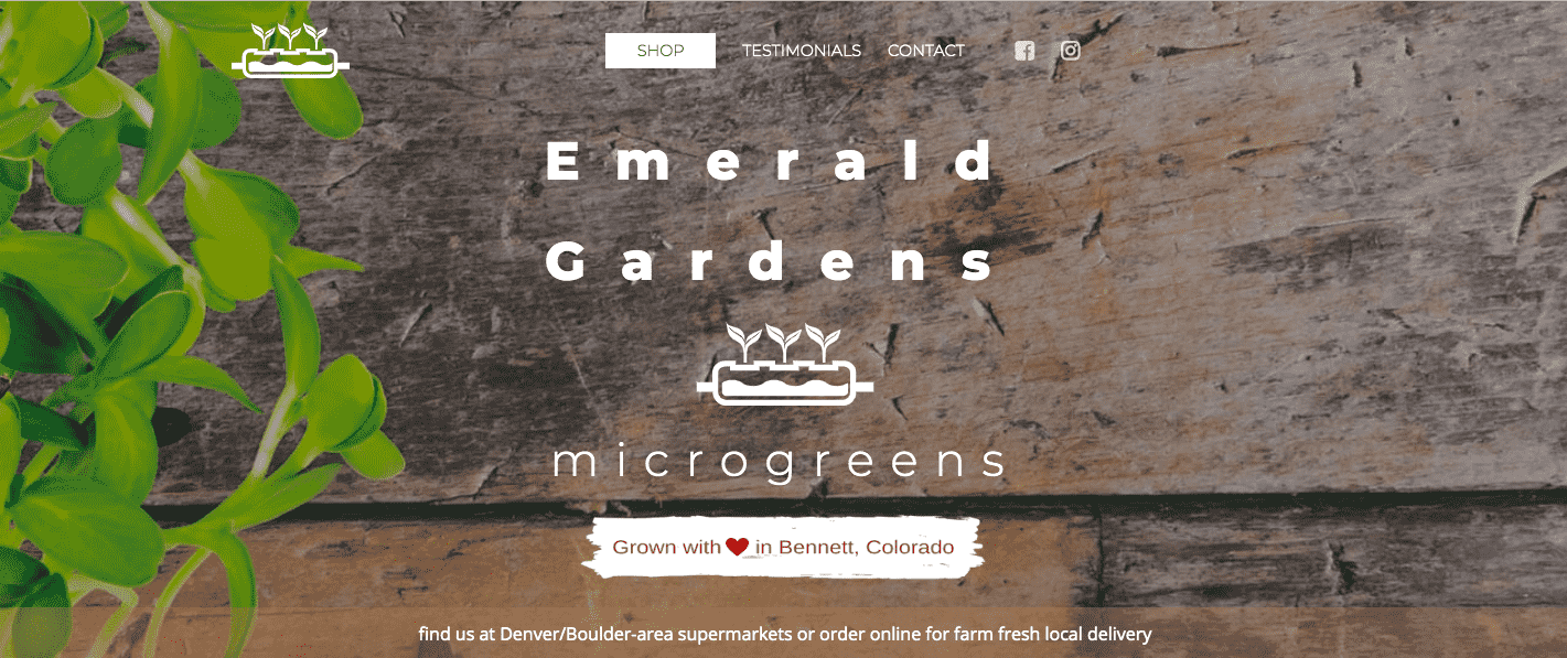 Visit Emerald Gardens online at www.emeraldgardens.farm