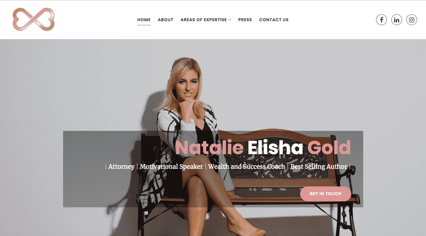 Visit Natalie Elisha Gold online at www.nataliegold.global